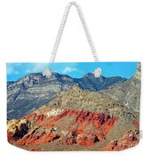 Red Rocks Nevada Weekender Tote Bag