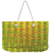 Red Rose Abstract # 0050pcwc Weekender Tote Bag