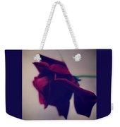 Red Rose Abstract 1 Weekender Tote Bag
