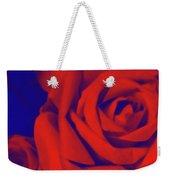 Red, Rose And Blue Weekender Tote Bag