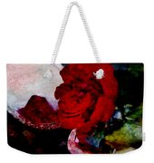 Red Rose And The Mirror Weekender Tote Bag