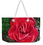Red Rose F135 Weekender Tote Bag