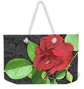 Red Rose For My Lady Weekender Tote Bag