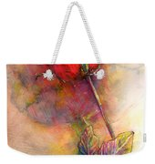 Red Rose From The Past Weekender Tote Bag