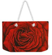 Red Rose II Weekender Tote Bag