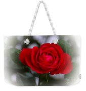 Red Rose Weekender Tote Bag by Issabild -