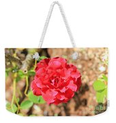Red Rose  Weekender Tote Bag