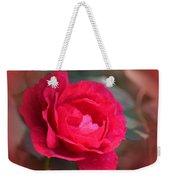 Red Rose Of May Weekender Tote Bag