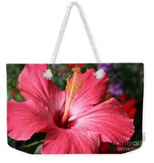Red Rose Of Sharon  Weekender Tote Bag