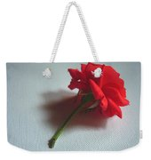 Red Rose Plucked Weekender Tote Bag