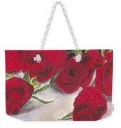 Red Rose Redux Weekender Tote Bag