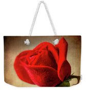Red Rose Romance Weekender Tote Bag