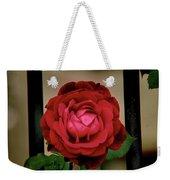 Red Rose  V2 Weekender Tote Bag