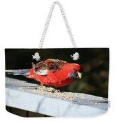 Red Rosella Weekender Tote Bag