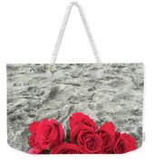 Red Roses Beachside Weekender Tote Bag