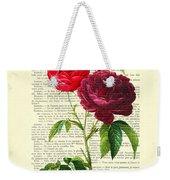 Red Roses For Valentine Weekender Tote Bag
