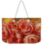 Red Roses Pierre-auguste Renoir Weekender Tote Bag