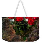 Red Roses Weekender Tote Bag