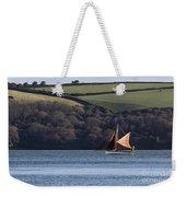 Red Sails In Carrick Roads Weekender Tote Bag
