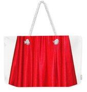 Red Satin Mid-calf Skirt. Ameynra Simple Line 2013 Weekender Tote Bag