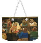 Red Says The Wrong Thing Weekender Tote Bag