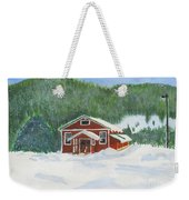 Red School House Weekender Tote Bag