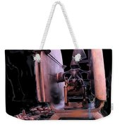 Red Sculpture Weekender Tote Bag