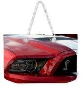 Red Shelby Weekender Tote Bag