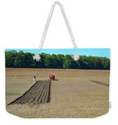 Red Shirt Red Tractor  Weekender Tote Bag