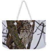 Red Shouldered Hawk - Madison - Wisconsin Weekender Tote Bag