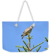 Red-shouldered Perch Weekender Tote Bag