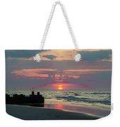 Red Sky Sun Rise Weekender Tote Bag