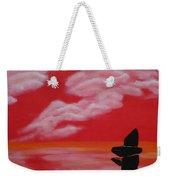 Red Sky1 Weekender Tote Bag
