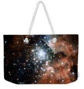 Red Smoke Star Cluster Weekender Tote Bag
