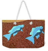 Red Snapper Inlay Sunny Day Invert Weekender Tote Bag