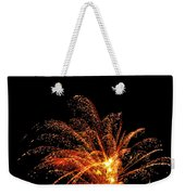 Red Splash Weekender Tote Bag