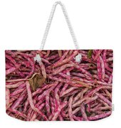 Red Spotted Pearly Beans Weekender Tote Bag