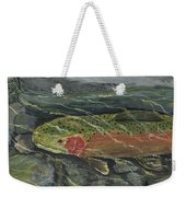 Red Steelhead Weekender Tote Bag