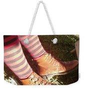 Red Stockings Weekender Tote Bag