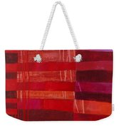 Red Stripes 2 Weekender Tote Bag
