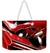 Red Stylish Accessories Weekender Tote Bag