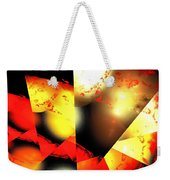 Red Sun Shell Weekender Tote Bag