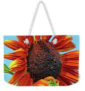 Red Sunflowers-adult And Child Weekender Tote Bag