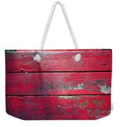 Red Table Weekender Tote Bag