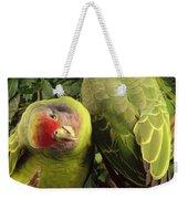 Red-tailed Amazon Amazona Brasiliensis Weekender Tote Bag