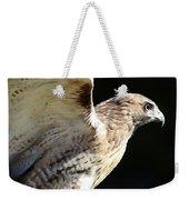 Red-tailed Hawk In Profile Weekender Tote Bag