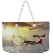 Red Tails Weekender Tote Bag by J Biggadike