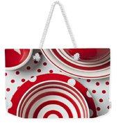 Red Teapot Weekender Tote Bag by Garry Gay