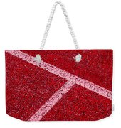 Red Tee Weekender Tote Bag