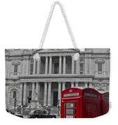 Red Telephone Boxes In London Weekender Tote Bag